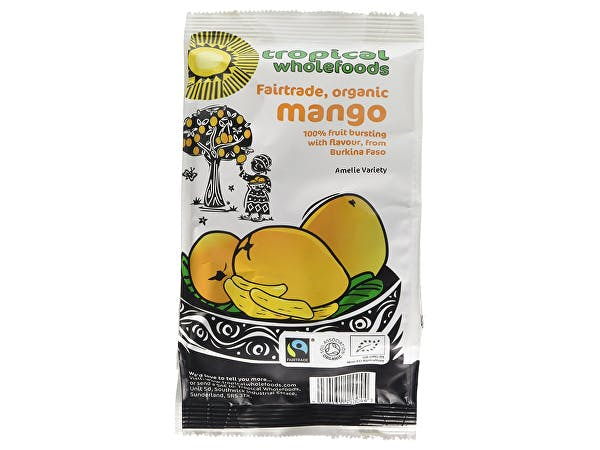 Tropical Wholefoods  Mango - Organic