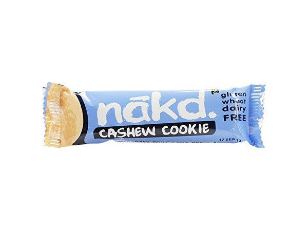 Nakd  Cashew Cookie Fruit & Nut Bar - Gluten Free
