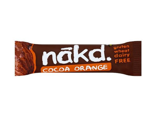 Nakd  Cocoa Orange Fruit & Nut Bar - Gluten Free