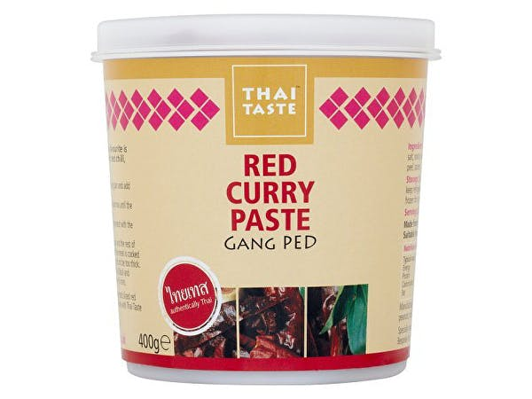 Thai Taste  Red Curry Paste