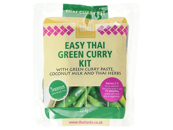 Thai Taste  Easy Thai Green Curry Kit