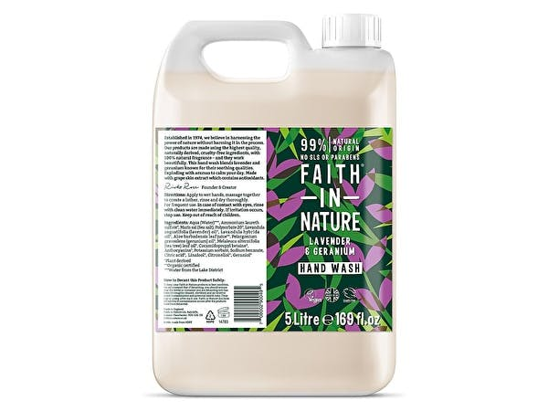Lavender & Geranium Hand Wash (Refill)