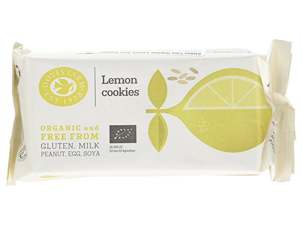 Doves Farm  Lemon Zest Cookies - Fairtrade