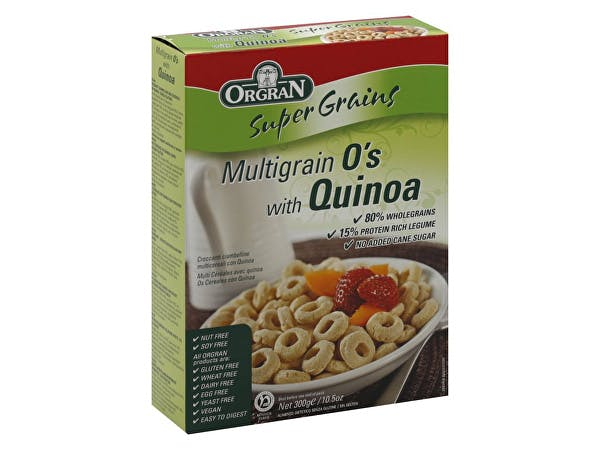 Orgran  Multigrain O's With Quinoa