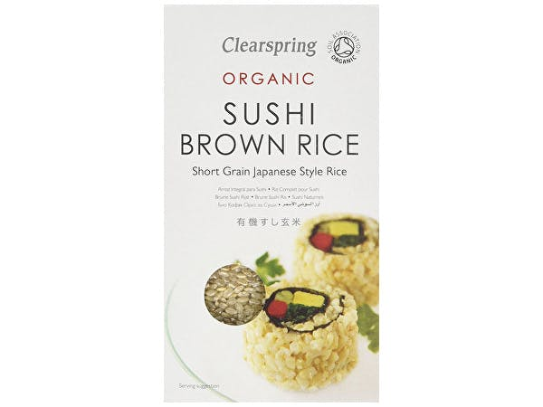 Clearspring  Sushi Brown Rice