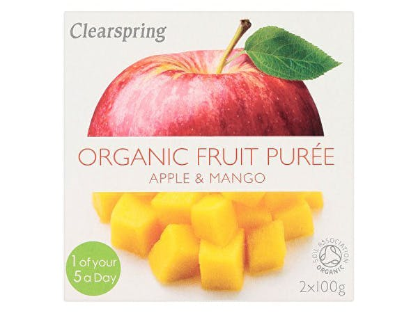 Clearspring  Apple & Mango Fruit Puree