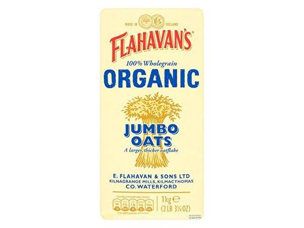 Flahavans  Jumbo Oats - Organic
