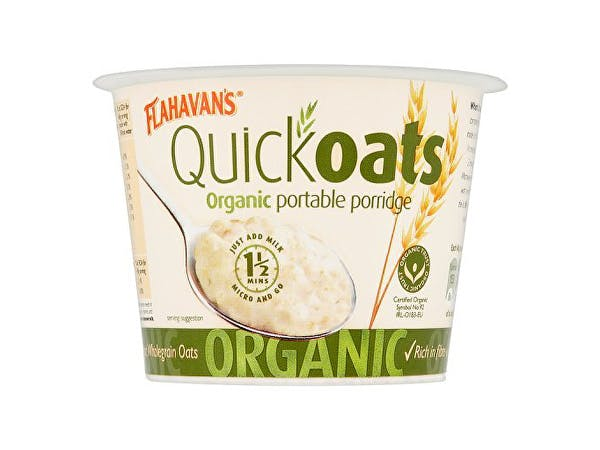 Flahavans  Quick Oats Organic Porridge - No Added Sugar