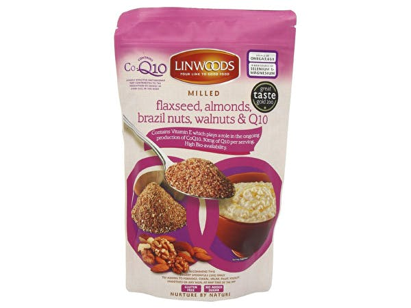 Linwoods  Flaxseed Almond Brazil Nut Walnut Coq10