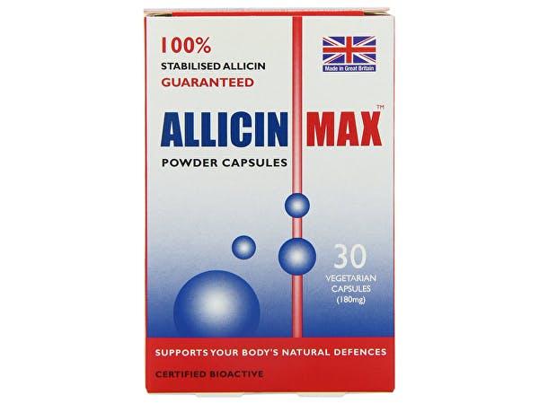 Allicin  Allicin Max 180mg Veg Capsules