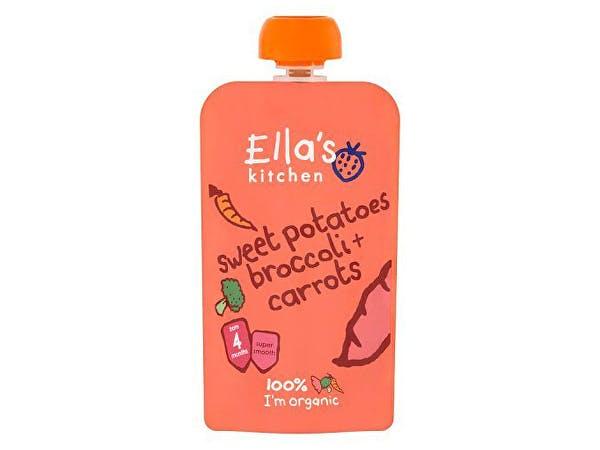 Ellas Kitchen  Sweet Potato Broccoli & Carrot - Stage 1