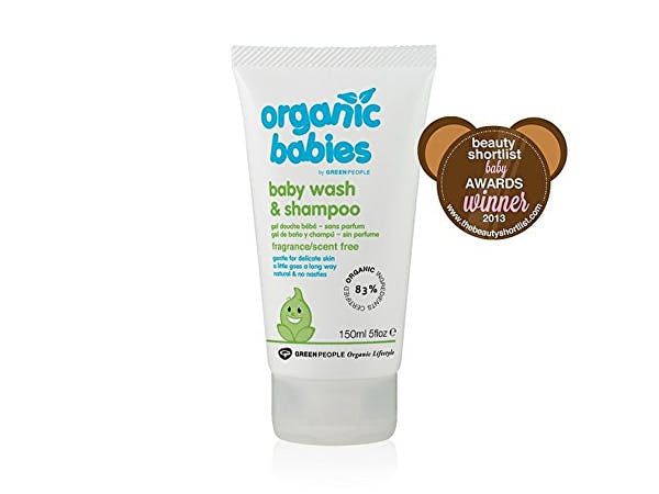 Green People  Baby Wash & Shampoo - No Scent