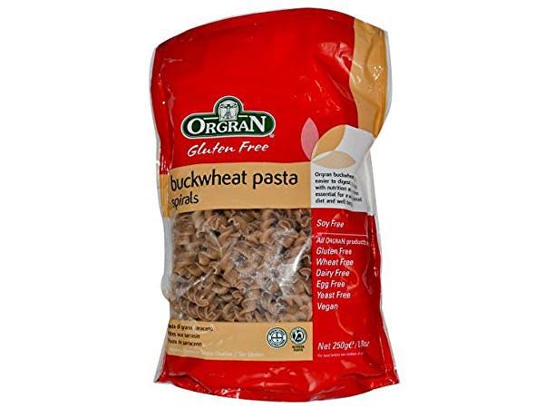 Orgran  Buckwheat Spirals Pasta