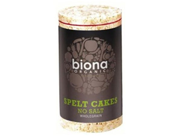 Biona  Spelt Rice Cakes - No Added Salt