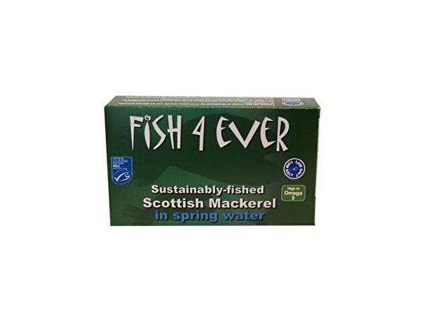 Fish 4 Ever  Scottish Mackerel In Spring Water