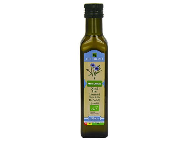 Crudigno  Organic Flax Seed Oil
