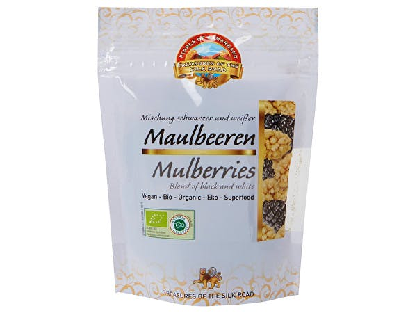 Pearls Of Samarkand  Organic Black & White Mulberries