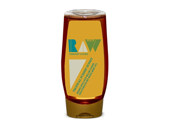 Raw Health  Organic Brazilian Forest Honey - Squeezy