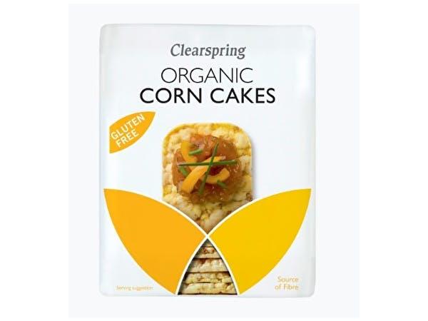 Puffed Corn Cakes - Organic