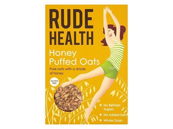 Rude Health  Puffed Oats - Honey