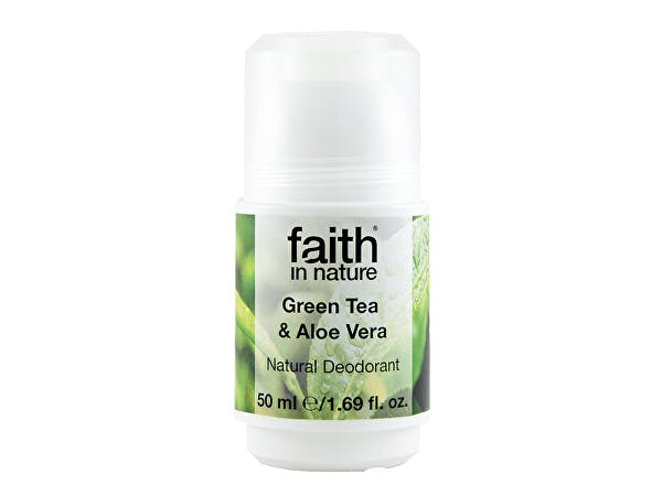 Faith  Roll On Deodorant - Aloe Vera & Green Tea