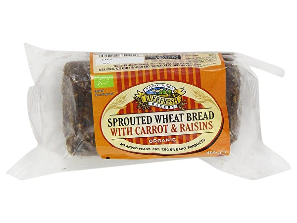 Everfresh  Sprouted Wheat Carrot & Raisin Bread