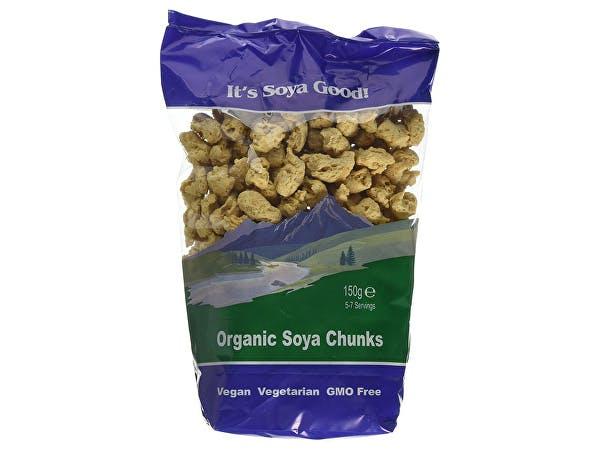 Its Soya Good  Soy Chunks
