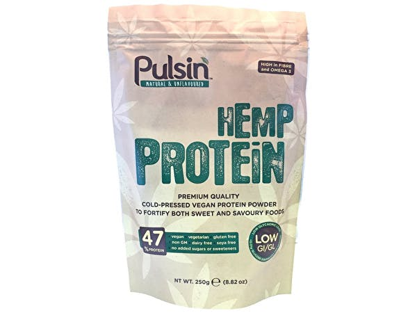 Pulsin  Hemp Protein - Natural Unsweetened & Unflavoured