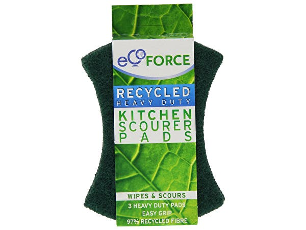 Ecoforce  Recycled Heavy Duty Scourers