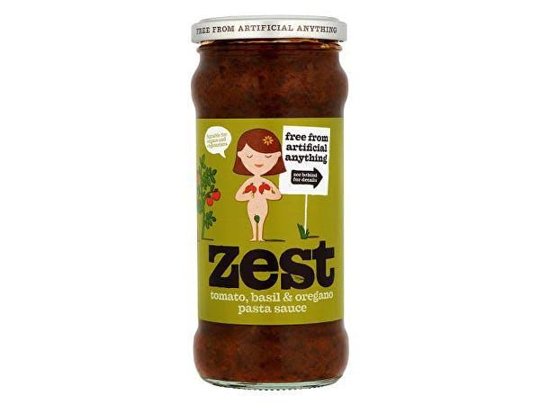 Zest  Tomato Basil & Oregano Pasta Sauce