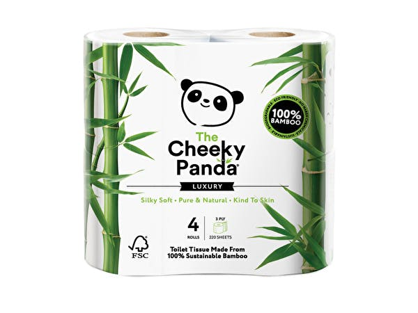 Plastic Free Bamboo 3ply Toilet Rolls