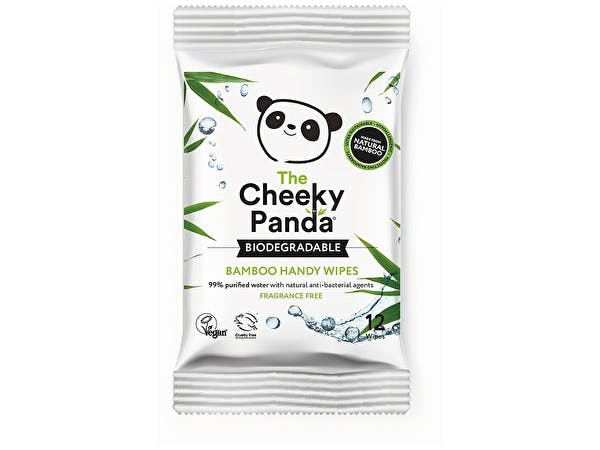 Biodegradable Bamboo Handy Wipes