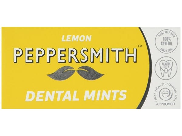 Peppersmith  Dental Mints - Lemon