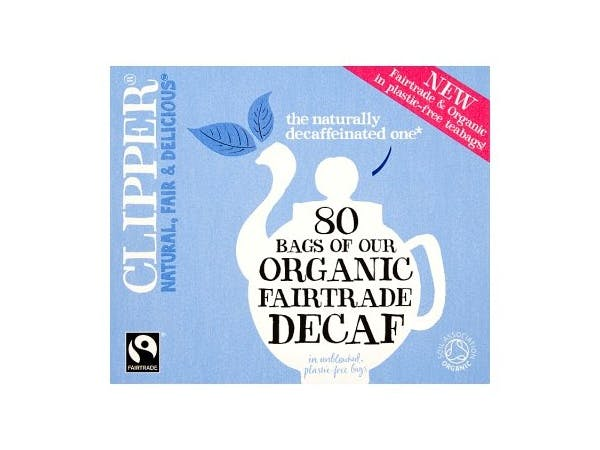 Organic Fair Trade Decaf Tea