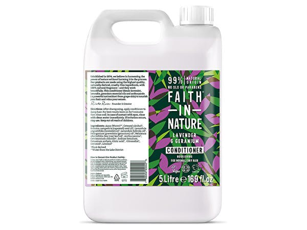Lavendar & Geranium Conditioner (Refill)