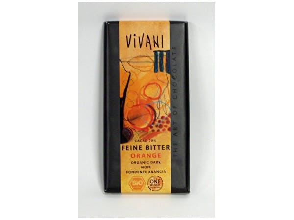 Vivani  Organic Dark Orange Chocolate