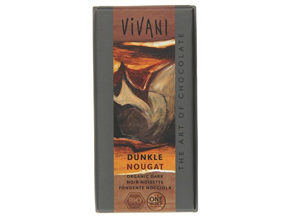 Vivani  Organic Dark Nougat Chocolate