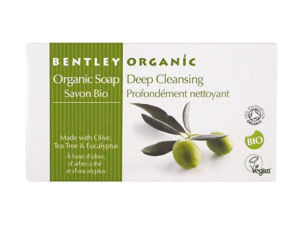 Bentley  Deep Cleansing Olive Tea Tree Eucalyptus Soap