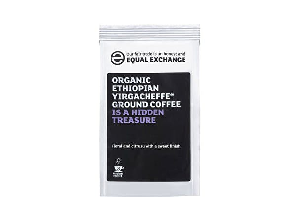 Equal Exchange  Roast Ground Coffee Ethiopian Yirgacheffe