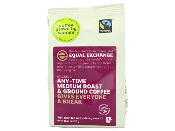 Womens Coffee  Roast Ground Coffee - Anytime Medium