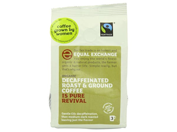 Womens Coffee  Roast Ground Coffee - Decaffeinated