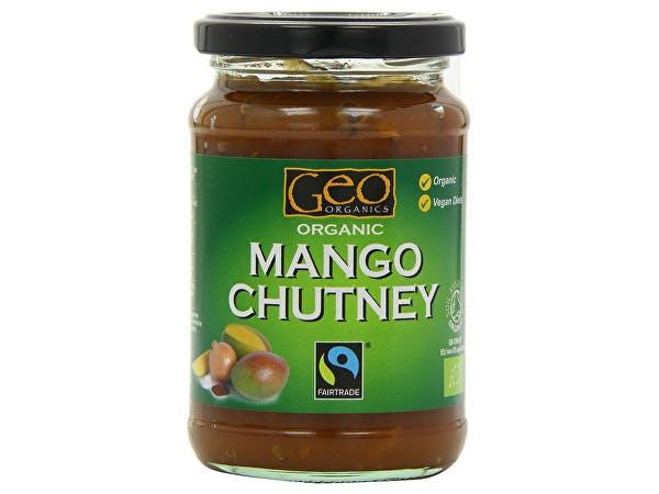 Geo Organics  Organic Mango Chutney - Fairtrade