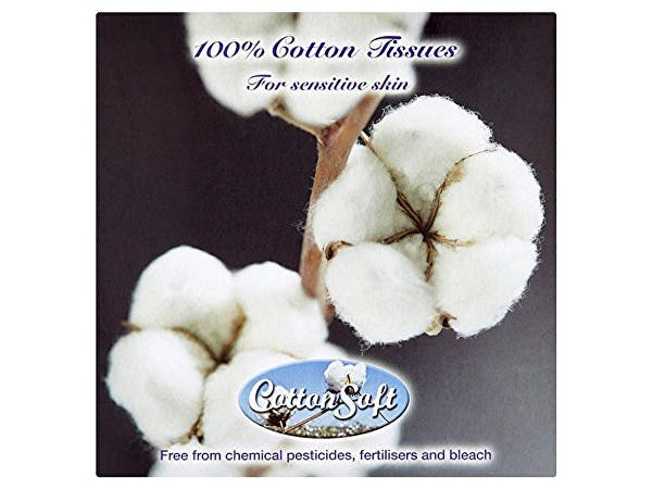 Cotton Soft  Facial Tissue 3Ply - 56 Pack