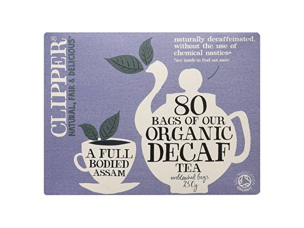 Clipper  Organic Everyday Decaffeinated Tea