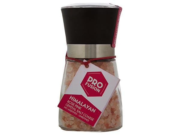 Profusion  Himalayan Rose Pink Salt Round Mill - Coarse