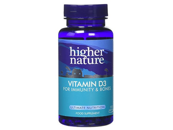 Higher Nature  Vitamin D 500iu Capsules