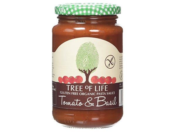 Tree Of Life  Tomato & Basil Pasta Sauce - Gluten Free