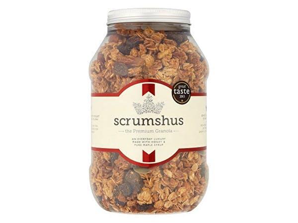 Scrumshus  Luxury Granola No Added Salt Or Sugar