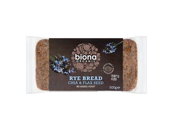 Biona  Rye Chia & Flaxseed Bread
