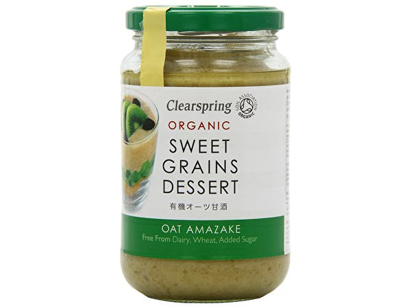 Clearspring  Sweet Grains Dessert - Oat Amazake